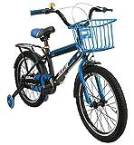 Airel Kinderfahrräder für Jungen und Mädchen | Fahrrad mit Rollen und Korb Kinderfahrrad | Fahrrad Kinder 16 und 18 Zoll | Fahrräder Kinder 4-7 Jahre | Farbe: Himmelblau Zoll: 16