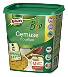 Knorr Bio Gemüse Bouillon Gemüsebrühe (aus rein pflanzlichen, hochwertigen Bio-Rohstoffen) 1er Pack (1 x 1 kg)