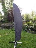 Spetebo Hochwertige Schutzhülle für Ampelschirm bis 400 cm - Material: Oxford 600D (wasserdicht) - Ampelschirmhülle Schirm Hülle
