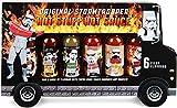 Modern Gourmet Foods - Original Stormtrooper Scharfe Saucen Geschenk-Set - Hot Sauce Probier-Set Mit 6 Chili-Saucen
