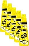 UHU 46315 - Alleskleber flinke Flasche 90 g (5, 90g Flasche)