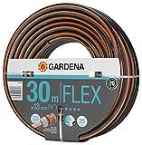 Gardena Comfort FLEX Schlauch 13 mm (1/2 Zoll), 30 m: Formstabiler, flexibler Gartenschlauch mit Power-Grip-Profil, aus hochwertigem Spiralgewebe, 25 bar Berstdruck, ohne Systemteile (18036-20)