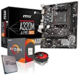 Memory PC Aufrüst-Kit Bundle AMD Ryzen 5 2600 6X 3.4 GHz, MSI A320M-A Pro Max Mainboard, komplett fertig montiert