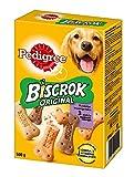 Pedigree Biscrok Original – Knuspriger Hundekeks in 3 köstlichen Geschmacksrichtungen – Huhn, Lamm & Rind – 6 x 500g