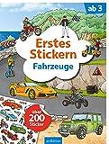 Erstes Stickern Fahrzeuge: Über 200 Sticker | Erstes Stickerheft für Fahrzeug-Fans ab 3 Jahren