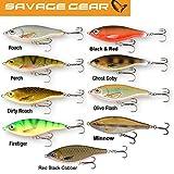 Savage Gear 3D Roach Jerkster 115 11,5cm 39g Jerkbait zum Hechtangeln, Hechtköder, Wobbler für Raubfisch, Farbe:Minnow