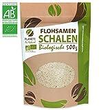 Bio FlohsamenSchalen - 500g - 99% Reinheit, zertifiziert Bio