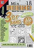 Mix Logik 3er-Band Nr. 18 (Mix Logik 3er-Band / Logik-Rätsel): Rätsel fürs Auge