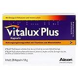 Vitalux Plus Lutein und Omega 3 Kapseln, 28 St