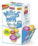 animonda Milkies Mix Variety, Katzenmilch portioniert, 4 x 20 Cups á 15 g