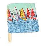 Aves-24 Windschutz 5m für Strand Garten See Meer SICHTSCHUTZ Wind Zaun Schutz Blickschutz Camping (14. Surf)