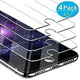 Beikell [4 Stück] Displayschutzfolie für iPhone 8, iPhone 7, iPhone 6S und iPhone 6, Gehärtetes Glas Schutzfolie [4,7 Zoll], 9H Härte, Kratzfest, Blasenfrei