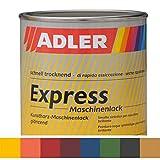 ADLER Express-Maschinenlack Weiß 750ml Kunstharzlack Spritzlack Lack
