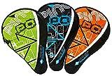 Donic-Schildkröt Tischtennis Schlägerhülle Classic, Schlägerhülle für einen Schläger, extra Ballfach für 3 Bälle, trendiges Design, 818506
