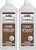 Flüssig-Entkalker für Kaffeevollautomaten 2 x 1000 ml I Kaffeemaschine I Vollautomat   Kaffeepadmaschine I Universal einsetzbarer Kalklöser I Kalk-Entferner