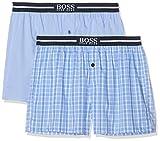 BOSS Herren Nos Boxer Ew 2P Schlafanzughose, Blau (Open Blue 471), X-Large (2er Pack)
