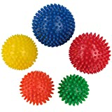 BB Sport Massageball Set 5er Igelbälle in verschiedenen Größen Massagebälle mit Noppen