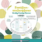 Familien Wochenkalender Dots 2021 - Familien-Timer - Termin-Planer - Kinder-Kalender - Familien-Kalender - 30,5x30,5