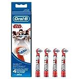 Oral-B Stages Power Star Wars Aufsteckbürsten für elektrische Kinderzahnbürsten, 4Stück