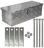 Truckbox Deichselkasten D025 inkl.Montagesatz Aluminium Deichselbox Trucky
