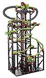 fischertechnik Kugelbahn Dynamic XXL mit einer einzigartigen Streckenlänge von 5,6m - 3 Modelle - Komplettset inklusive Motor, Rainbow-LED, Looping, Stop & Go, Wechselweiche für grenzenlosen Spielspaß