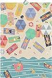 Ekelund Strand Geschirrtuch (Öko-Tex) 35x50 cm Mehrfarbig