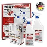 Stoppex®-Schimmelentferner-Set (1,5l)-Maximale Wirkung gegen Schimmel für Wand, Bad und Silikonfugen I Anti-Schimmelspray-Set gegen Schimmelpilze
