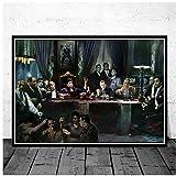 Gangsters Godfather GoodfellasMovie Art Poster Leinwand Gemälde Wandbild Home Decor Poster und Drucke -60x90cm No Frame