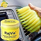 Rajvia Auto Reinigungsgel für den Innenraum,Tastatur Reiniger,Universeller Staubreiniger für Laptops,Fernbedienung,Auto,Drucker,Kameras,Weicher und Flexibler Tastatur Reiniger