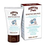Hawaiian Tropic Sensitive Skin Sonnencreme Gesicht, SPF 50, 60ml, 1er Pack(1 x 1 Stück)