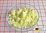 1 kg Schwefel anorganisch Schwefelpulver Schwefelpuder Mahlschwefel Sulphur 99,99% Herkunftsland Deutschland sehr rein Pharmazeutisch reinst Säurefrei, wiederverschließbar