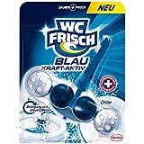 WC Frisch Kraft-Aktiv Blauspüler 50g Chlor 10er Pack (10 x 1 Stück)