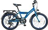 20 Zoll Kinder City Jungen Fahrrad Bike Rad Kinderfahrrad Citybike Cityfahrrad Cityrad 7 Shimano Gang Dynamic Blau TYT19-037