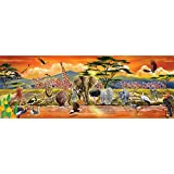 Bodenpuzzle Safari 100 Teile