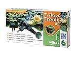 Velda 126651 Elektronischer Entferner gegen Faden- und Schleimalgen durch Kupferionen, Teich bis 5000 Liter, T-Flow Tronic 05