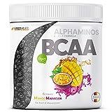 BCAA Pulver 300g - TESTSIEGER - ALPHAMINOS BCAA 2:1:1 - Das ORIGINAL von ProFuel | Essentielle Aminosäuren | Unfassbar leckerer Geschmack (Mango-Maracuja)