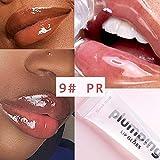 Professionelle glänzende Kirsche Vitamin E Mineralöl Feuchtigkeitsspendende Plumping Clear Lip Gloss Volume Tint Matte Flüssiges Lippenstift-Make-up