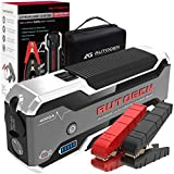 AUTOGEN 4000A Auto Starthilfe Powerbank (10.0 L + Benzin & Diesel), tragbarer 12V Lithium Batterie Jumper Box Booster Pack für Autos, SUVs, LKWs. Riesige Power Bank mit Quick Charge 3.0