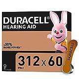 Duracell Hörgerätebatterien Größe 312, 60er Pack [Amazon exclusive]
