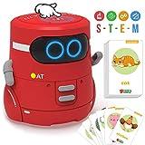 GILOBABY Smart Roboter Spielzeug für Kinder,Touch funktions Roboter mit Spracher kennungs Funktion, Elektronisches Roboter Spielzeug mit Tanz und Musik und Gehen, Geschenke für Jungen / Mädchen (Rot)