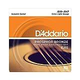 D'Addario EJ15 Satz Bronzesaiten für Akustikgitarre 010' - 047'