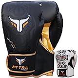 Mytra Fusion Boxhandschuhe 10oz 12oz 14oz 16oz Boxhandschuhe für das Training Punching Sparring Boxsack Boxhandschuhe Sandsack Handschuhe Muay Thai Kickboxing MMA Kampfsport Workout Handschuhe