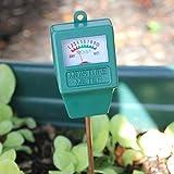 Jiamins Tester Feuchtigkeit des Bodens. Garten Hygrometer. Soil Moisture Meter. Ideal für Den Garten. Bauernhof. Rasen. Innen und Außen (Ohne Akku n
