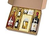 Präsentkorb Grande Festa Italien Feinkost Geschenk für Männer und Frauen I Geschenkkorb Geschenkbox mit Wein, Olivenöl und Spezialitäten aus der italienischen Gourmet-Küche