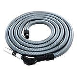 Zentralstaubsauger Schlauch Komfort, passend für viele Anbieter, Länge 9,1m, Öffnung Saugdose ca. 37 mm, Anschluss Staubsauger-Zubehör 32 mm