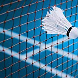 VGEBY Badminton Netz, Badminton Square Wettkampf Trainingsnetz mit Aufbewahrungstasche