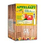Pfannenschwarz Apfelsaft 100% Direktsaft, 2er Pack (2x5 l Bag in Box)