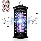 Elektrischer Insektenvernichter, UV Elektrischer Insektenfalle Mückenlampe mit Eine leistungsstarke 6W Leuchtstoffröhre enlampe Schutz vor Elektrischem Schlag Tragbare Für Innen Schlafzimmer Gärten