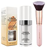 30ml Flawless Farbwechsel Concealer Abdeckung mit Make-Up Pinsel Kabuki Schminkpinsel Kosmetikpinsel Foundation Pinsel By SIGHTLING
