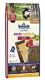 bosch HPC Mini Adult mit Lamm & Reis   Hundetrockenfutter für ausgewachsene Hunde kleiner Rassen, 1 x 15 kg